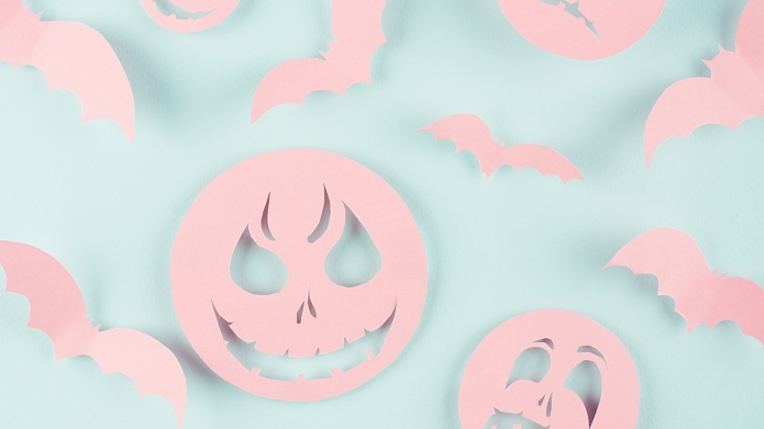 Pastel Halloween Decor