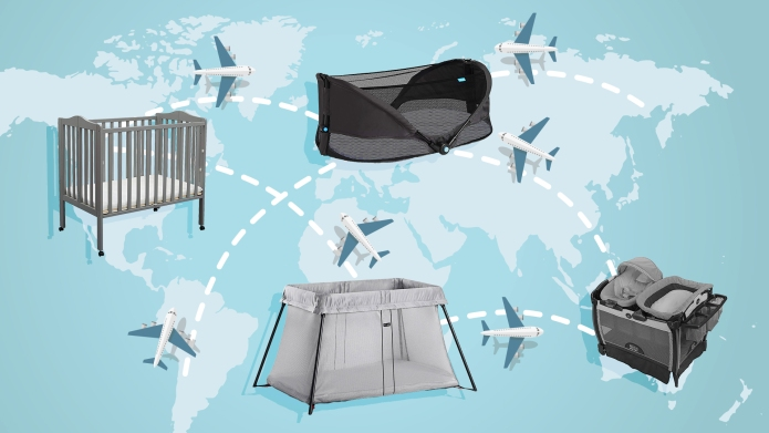 Best portable travel cribs on Amazon