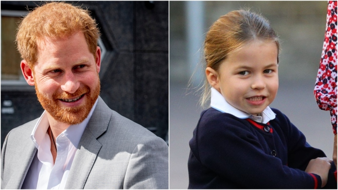 Prince Harry & Princess Charlotte.