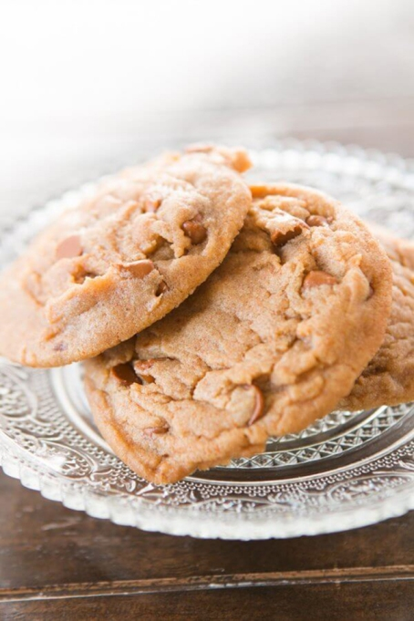 Cinnamon Chip Pumpkin Spice Cookies