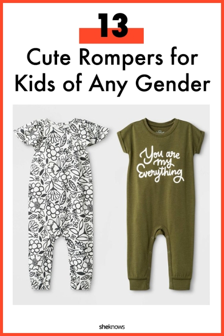 Cute Rompers and Jumpsuits for Kids