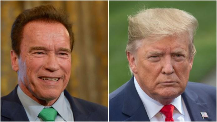 Arnold Schwarzenegger; Donald Trump.