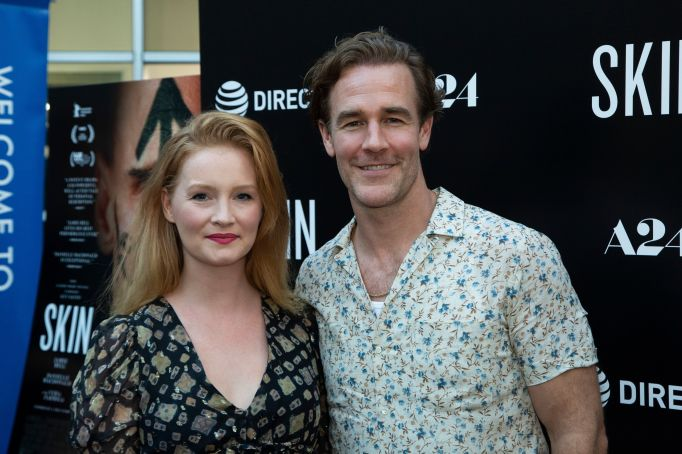 Kimberly and James Van Der Beek