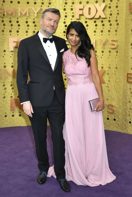 Charlie Brooker and Konnie Huq71st Annual Primetime Emmy Awards, Arrivals, Microsoft Theatre, Los Angeles, USA - 22 Sep 2019