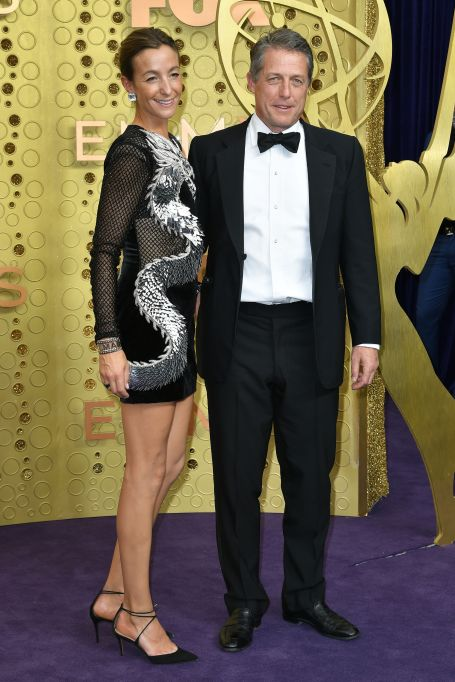 Hugh Grant and Anna Elisabet Eberstein71st Annual Primetime Emmy Awards, Arrivals, Microsoft Theatre, Los Angeles, USA - 22 Sep 2019