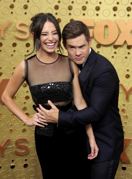 Chloe Bridges and Adam DeVine71st Annual Primetime Emmy Awards, Arrivals, Microsoft Theatre, Los Angeles, USA - 22 Sep 2019
