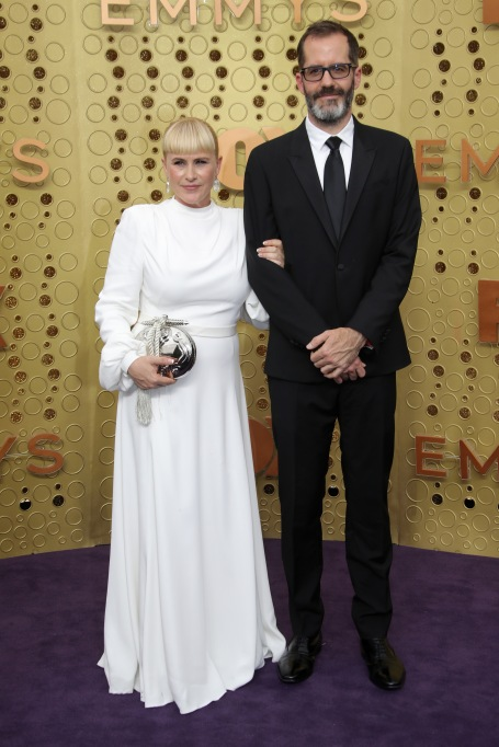 Patrica Arquette and Eric White71st Annual Primetime Emmy Awards, Arrivals, Microsoft Theatre, Los Angeles, USA - 22 Sep 2019