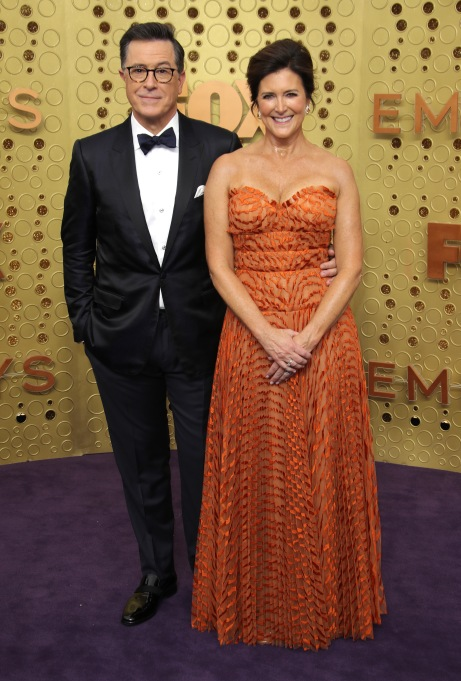 Stephen Colbert and Evelyn McGee-Colbert71st Annual Primetime Emmy Awards, Arrivals, Microsoft Theatre, Los Angeles, USA - 22 Sep 2019