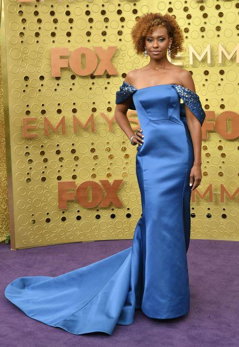 Ryan Michelle Bathe71st Annual Primetime Emmy Awards, Fashion Highlights, Microsoft Theatre, Los Angeles, USA - 22 Sep 2019Wearing Zac Posen