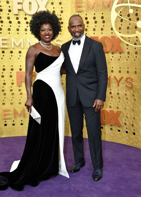 Viola Davis, Julius Tennon. Viola Davis, left, and Julius Tennon arrive at the 71st Primetime Emmy Awards, at the Microsoft Theater in Los Angeles 71st Primetime Emmy Awards - Arrivals, Los Angeles, USA - 22 Sep 2019