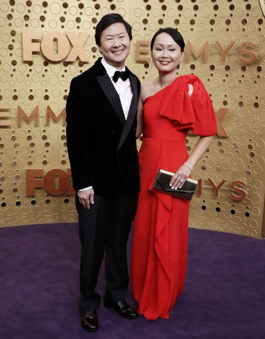 Ken Jeong and Tran Ho arrives for the 71st annual Primetime Emmy Awards ceremony held at the Microsoft Theater in Los Angeles, California, USA, 22 September 2019. The Primetime Emmys celebrate excellence in national primetime television broadcasting.Arrivals - 71st Primetime Emmy Awards, Los Angeles, USA - 22 Sep 2019