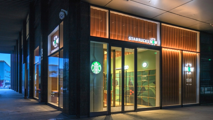 starbucks now china