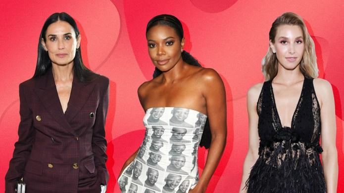 Demi Moore, Gabrielle Union & Whitney