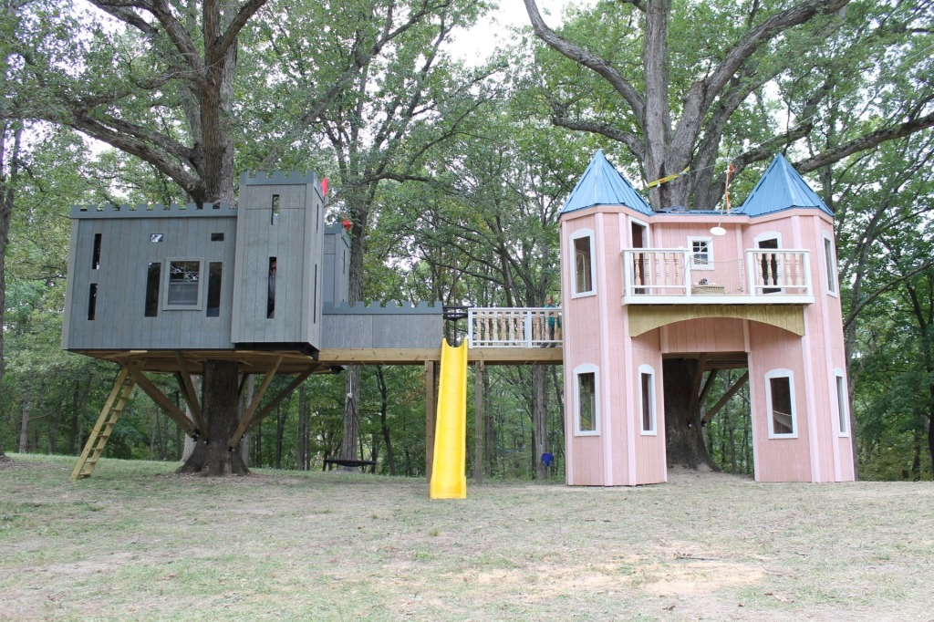 Two Castle Treehouse