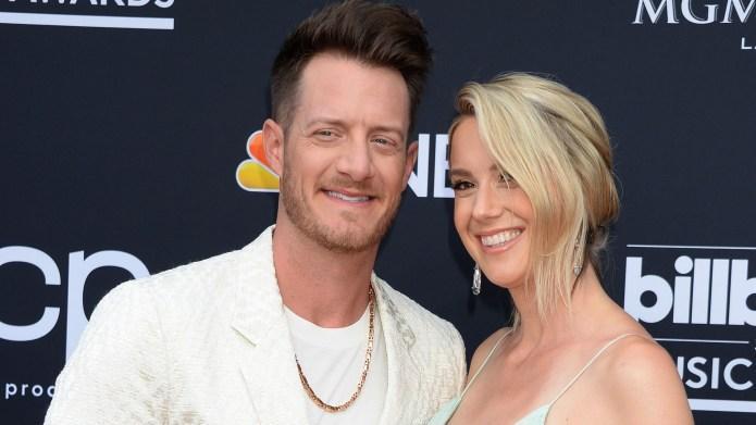 Tyler Hubbard and wife Hayley.
