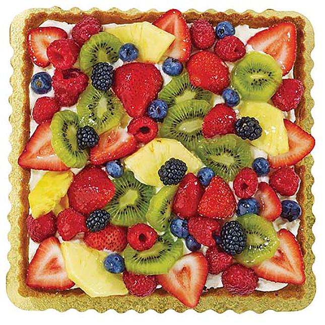 Wegmans Square Fruit Tart