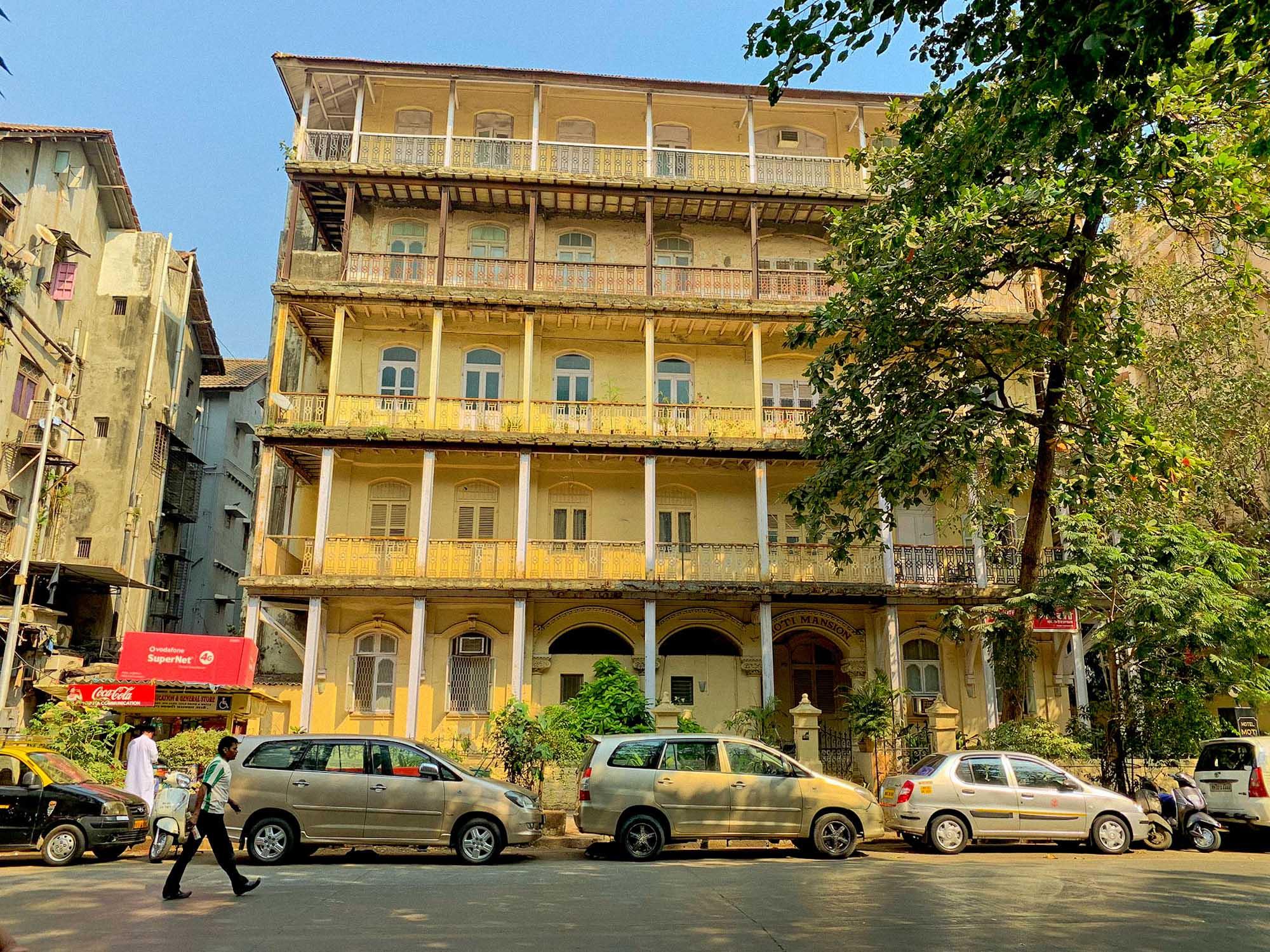Heritage building Mumbai