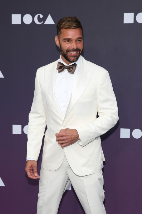 Ricky Martin attend the 2019 MOCA benefit at the Geffen Contemporary on in Los Angeles 2019 MOCA Benefit, Los Angeles, USA - 18 May 2019