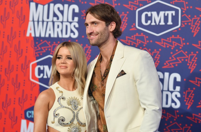 Maren Morris and Ryan HurdCMT Music Awards, Arrivals, Bridgestone Arena, Nashville, USA - 05 Jun 2019
