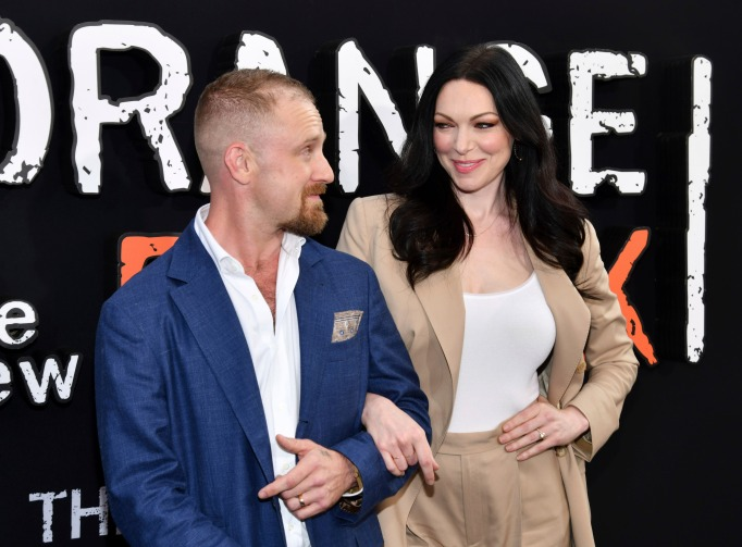 Laura Prepon is expecting her second child with Ben Foster