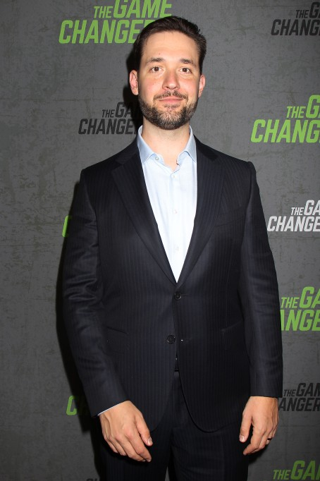 Alexis Ohanian New York Red Carpet Premiere of Academy Award-Winning Director, Louie Psihoyos' 'The Game Changers', USA - 09 Sep 2019
