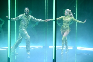 """DANCING WITH THE STARS - """"Halloween"""" - All treats and no tricks as eight celebrity and pro-dancer couples return to the ballroom to celebrate Halloween and compete on the seventh week of the 2019 season of """"Dancing with the Stars,"""" live, MONDAY, OCT. 28 (8:00-10:00 p.m. EDT), on ABC. (ABC/Eric McCandless)KEL MITCHELL, WITNEY CARSON"""