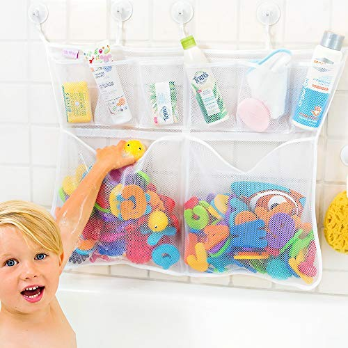 The Really Big Tub Cubby Bath Toy Organizer & Caddy