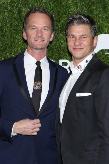 Neil Patrick Harris, David Burtka12th Annual God's Love We Deliver 'Golden Heart Awards', Arrivals, New York, USA - 16 Oct 2018