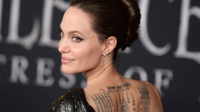 Angelina Jolie Maleficent Premiere