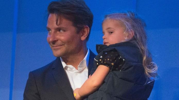 Bradley Cooper and daughter Lea de