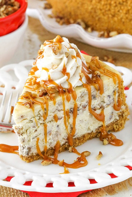 Browned Butter Pecan Cheesecake