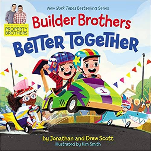 'Builder Brothers Better Together' Cover