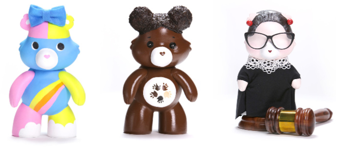 Celebrity Care Bear Collaboration with Care for International Day of the Girl