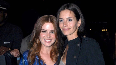 Courteney Cox Isla Fisher
