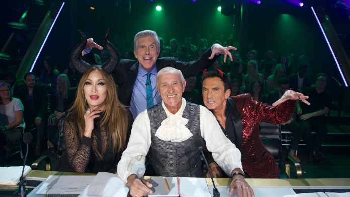'Dancing With The Stars' Halloween episode.