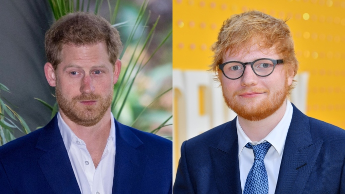 Prince Harry Ed Sheeran