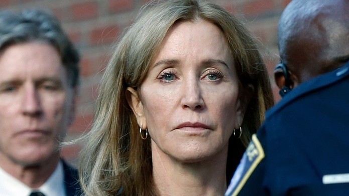 Felicity Huffman released early from prison.