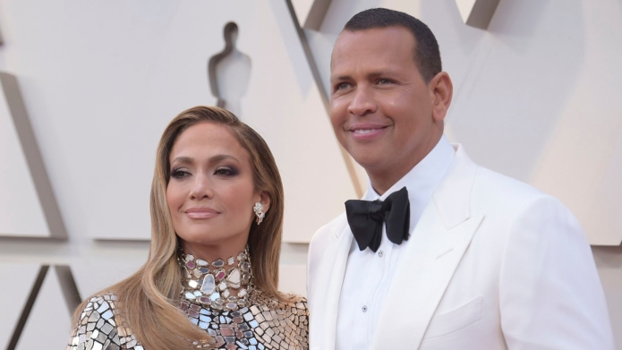 Jennifer Lopez and Alex Rodriguez are