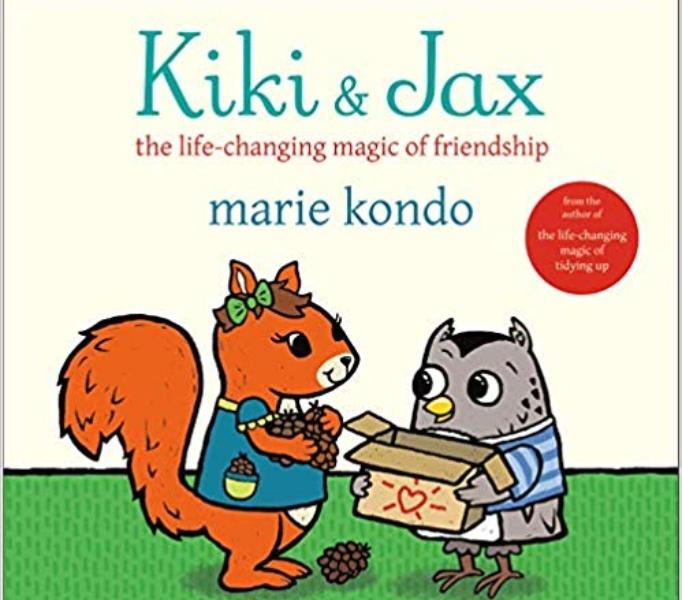 Cover of Marie Kondo's 'Kiki & Jax: The Life-Changing Magic of Friendship'