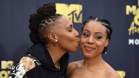 Lena Waithe and Alana Mayo secretly