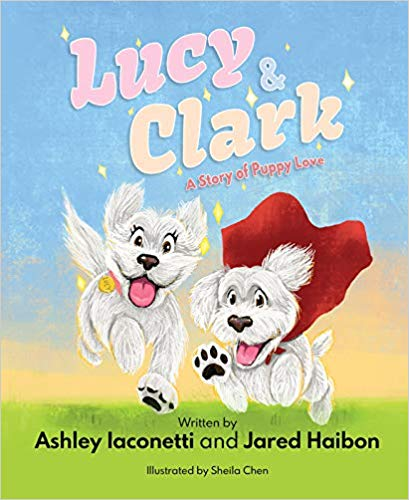 'Lucy & Clark: A Story of Puppy Love' cover
