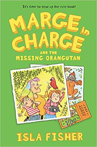 'Marge in Charge and the Missing Orangutan' cover