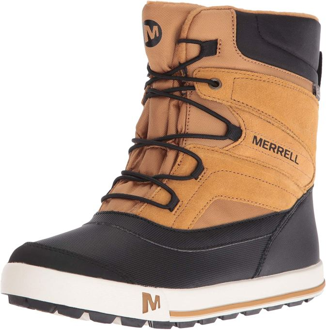 Fall 2019 kids' shoes Merrell Snow Bank 2.0 waterproof snow boots