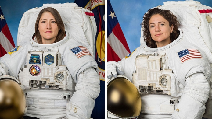 The First All-Female Spacewalk Is Happening Right Now — Watch NASA's Live Stream