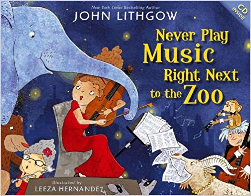 'Never Play Music Right Next to the Zoo' cover