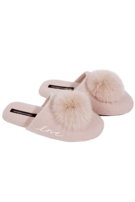 Puff love slipper