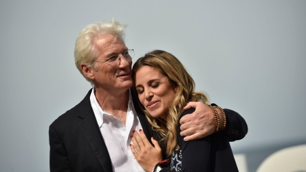 Richard Gere and Alejandra Silva are