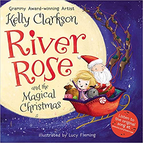 'River Rose and the Magical Christmas' cover
