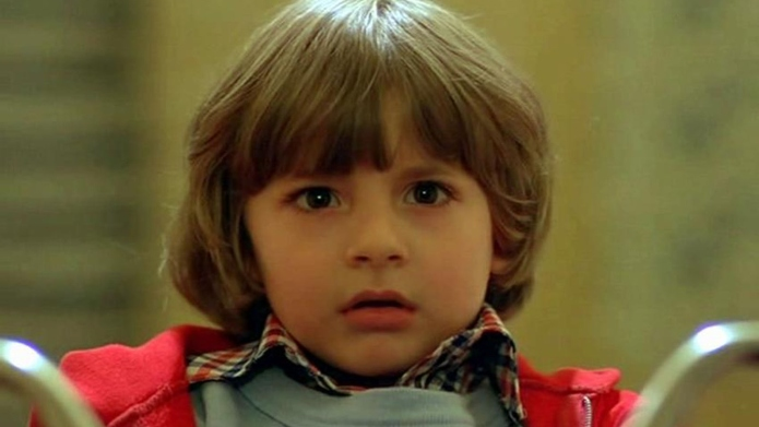 Danny Lloyd in Stephen King movie