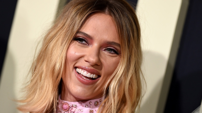 Scarlett Johansson at 'Jojo Rabbit' premiere.